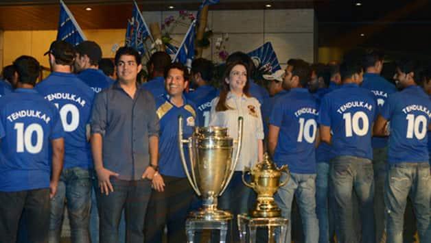 Sachin Tendulkar's No 10 jersey retired by Mumbai Indians
