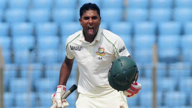 Sohag Gazi's maiden ton rallies Bangladesh against New Zealand at tea on Day 4 of 1st Test