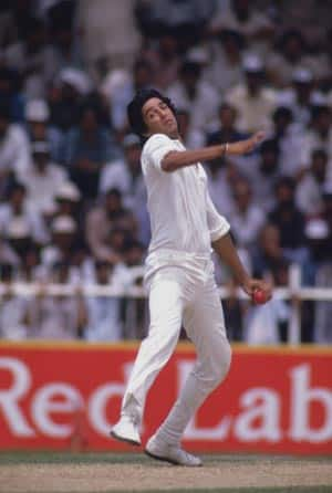 Wasim Akram bowls Pakistan to victory with a magical hat-trick against West Indies at Sharjah
