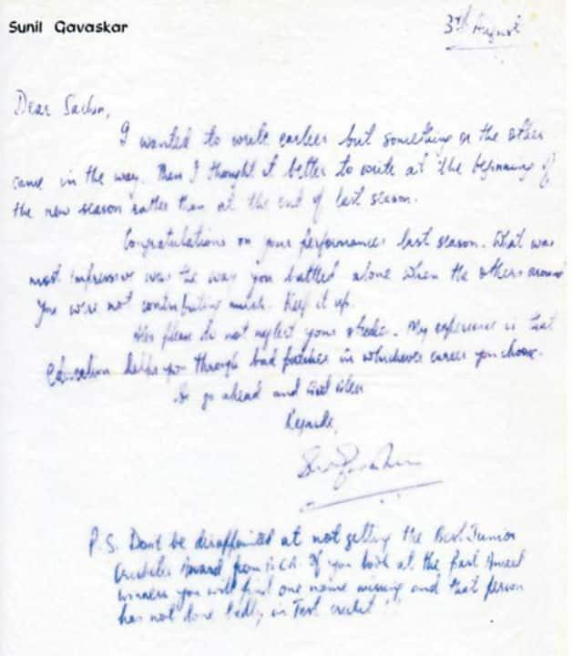 Sachin Tendulkar and Sunil Gavaskar: Two masters and the amazing chemistry between the two