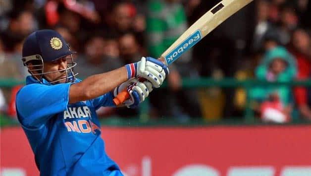 MS Dhoni's ton takes India to XXX/X despite Johnson's 4-wicket haul in 3rd ODI at Mohali