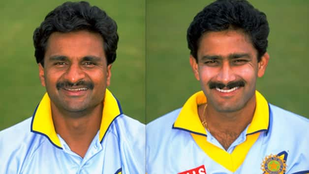Javagal Srinath and Anil Kumble seal thrilling win in nervous run ...