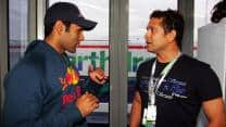 'I was amazed by Sachin Tendulkar's in-depth knowledge about Formula One'