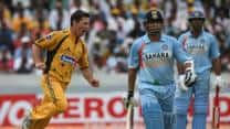 "When Sachin Tendulkar signed a picture of Brad Hogg dismissing him with the words, ""Never again mate!"""
