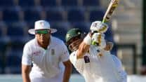 Misbah, Shafiq slam half-centuries as Pakistan reach 198/4 at lunch on Day 4 against South Africa