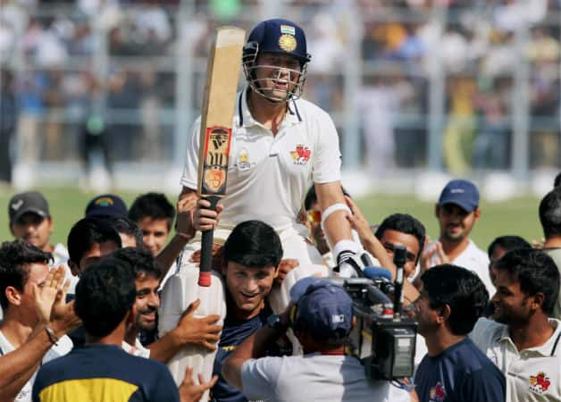 Sachin Tendulkar told Mumbai team on emotional final day: