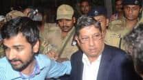 BCCI President N Srinivasan appears before CBI court