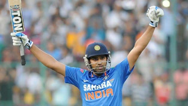 Rohit Sharma's 209 powers India to 383/6 in 7th ODI against Australia at Bangalore