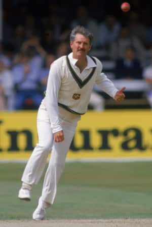Bob Holland, aged 38, makes his debut and spins Australia to victory