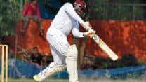 India vs West Indies 1st Test, Day 1: Bhuvneshwar Kumar gets Chris Gayle for 18; score 39/1