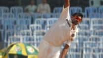 India vs West Indies 1st Test, Day 1: Ravichandran Ashwin gets Veerasammy Permaul    <br />
