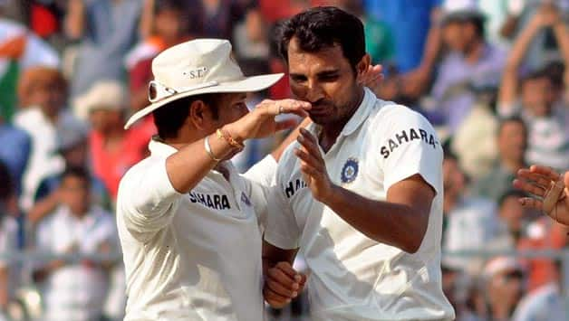 India vs West Indies 2013: Mohammad Shami dedicates dream debut to Sachin Tendulkar