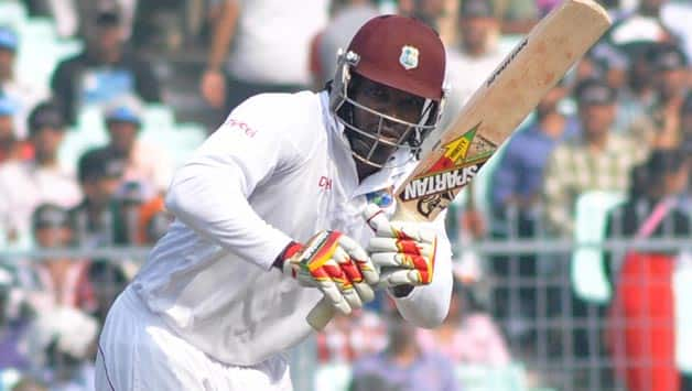 India vs West Indies 2013 2nd Test, Day 1: Shami gets Chris Gayle; score 25/1
