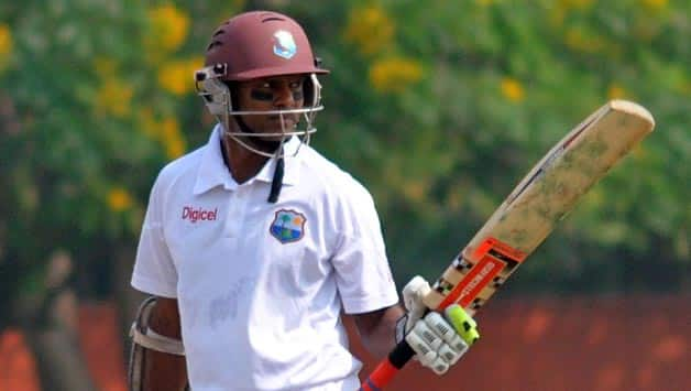 Shivnarine Chanderpaul top-scores for West Indies in tour match against New Zealand XI