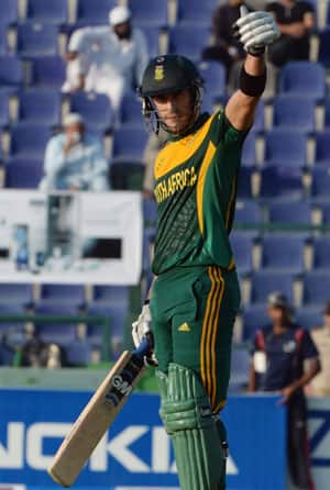 Faf du Plessis delighted with South Africa's batting display in T20 series against Pakistan