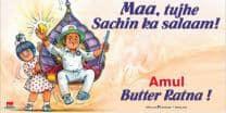 Sachin Tendulkar's Bharat Ratna features in latest Amul ad