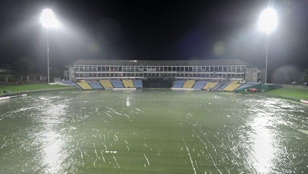 Sri Lanka vs New Zealand 1st T20 at Pallekele abandoned due to rain