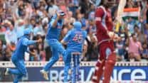 India vs West Indies 1st ODI at Kochi: Chris Gayle run-out in first over