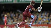 India vs West Indies 1st ODI at Kochi: Raina gets Simmons; West Indies 142/4 in 28 overs