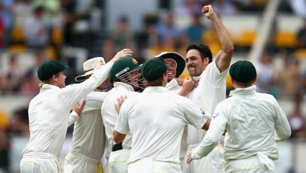 Australia vs England Live Cricket Score, Ashes 2013-14 1st Test Day 4: Australia 2 wickets away from victory