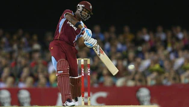 India vs West Indies 2nd ODI at Visakhapatnam: Marlon Samuels falls as West Indies stumble; Score 23/2 in 12 overs