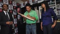 Sachin Tendulkar launches 'Collectabillia Celebrity Wall' in Mumbai