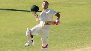 Warner: Learnt to bat for long periods from Rogers