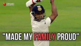 Binny makes family proud after 1st Test heroics