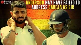 Anderson may have failed to address Jadeja as