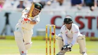 Warner's onslaught takes Australia's lead to 387