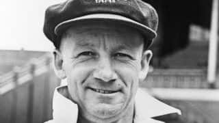 Bradman's first ever bat to be put up for auction