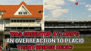 Did lifeless Trent Bridge result in overreaction at Lord's?