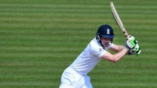 Cook, Robson start off for England