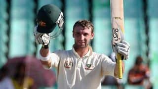 Phil Hughes hits double ton against South Africa A