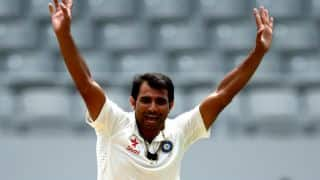 Chopra: Leading pace attack taking its toll on Shami