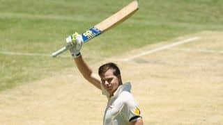 Smith, Johnson take Australia to 351/6 at lunch