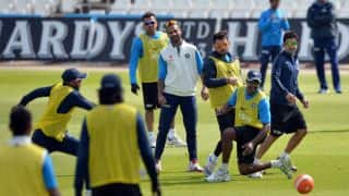 India practice session ahead of 1st Test against England
