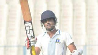 Shukla's ton gives Bengal 3 points against Baroda