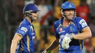 Smith, Faulkner stun Bangalore to help Rajasthan win