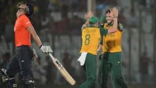 South Africa beat England with narrow 3-run margin