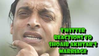 Twitter reacts to Shoaib Akhtar's marriage