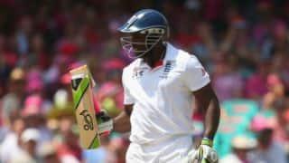 Harris wants Carberry's broken bat