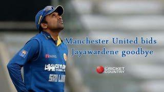 Manchester United wishes Jayawardene on retirement