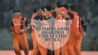 Major boost for Netherlands cricket