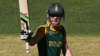 South Africa post 267/8 against Australia in 4th ODI
