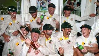 In Photos: Australia's Ashes 2013-14 victory celebrations