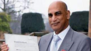 The first Indian cricketer to be awarded the MBE