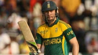 De Villiers pleased with victory in Zimbabwe Tri-series