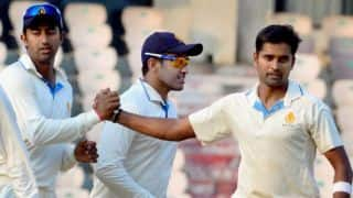 Karnataka crush Rest of India to lift Irani Cup