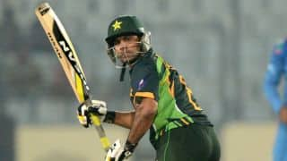 CLT20 2014: Hafeez unhappy with Ali's selection
